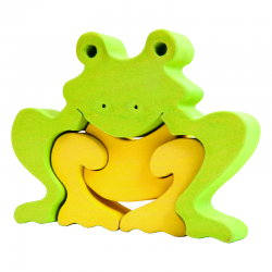 Puzzle Frosch